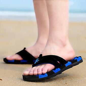 Summer Fashion Massage Slippers Big Size Non-slip Flip Flops For Male