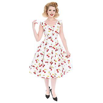 Sweet Cherries Swing Dress