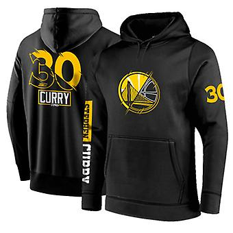 Golden State Warriors No.30 Stephen Curry Pullover Hoodie Swearshirt Tops 3WY025
