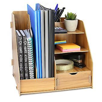 Wooden Desktop Organiser | Pukkr