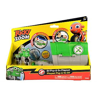Ricky Zoom DJ Pop & Go Playset