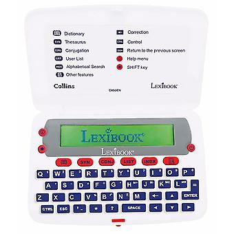 Lexibook D850EN Collins English Electronic Dictionary with Thesaurus