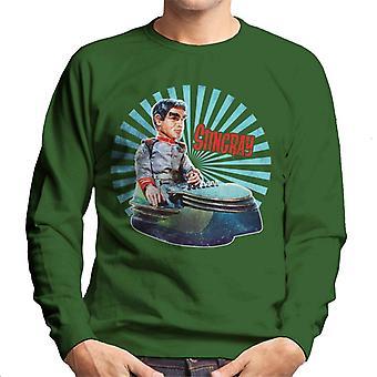 Stingray Commander Sam Shore In Hoverchair Men's Sweatshirt