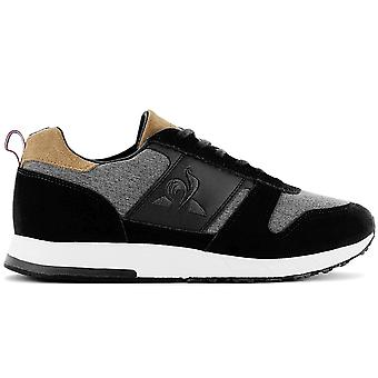 Le Coq Sportif Jazy Classic - Men's Shoes Black 2010163 Sneakers Sports Shoes