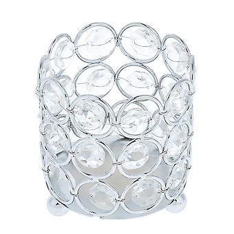Crystal Tealight Candle Lantern Houders Kandelaars Voor Home Decors