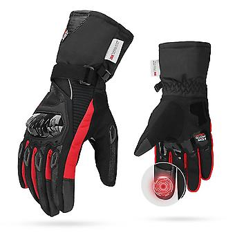 Motorcycle Gloves, Cycling Mountain Bike, Touch Screen Moto Gloves Men
