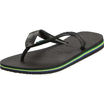 Havaianas kvinders Brasilien Sandal Flip Flop, sort, 35 BR/6 W USA