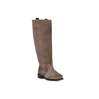 Frau waxy mink boots
