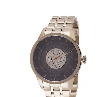 Gevril Columbus Circle Black Dial Automatic Men's Watch 2007B