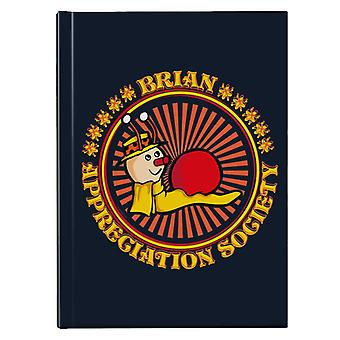 The Magic Roundabout Brian Appreciation Society Hardback Journal
