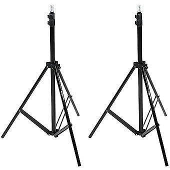 HanFei - Kamera - Beleuchtungsstativ, Aluminium, 2,13 m, 2er-Pack