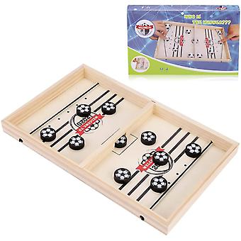FengChun Brettspiel Hockey, Katapult Brettspiel, Fast Sling Puck Spiel, Tragbares Eisball-Kampfspiel,