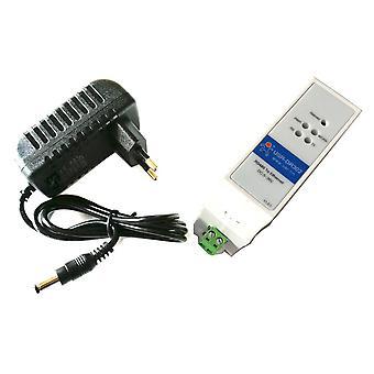 Din-kisko Rs485 Sarja-Ethernet muunnin kaksisuuntainen läpinäkyvä