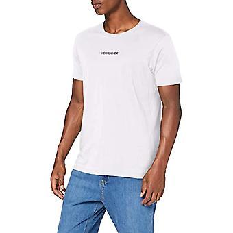 Herrlicher Base Mercerized Jersey T-Shirt, White 10, M Men's