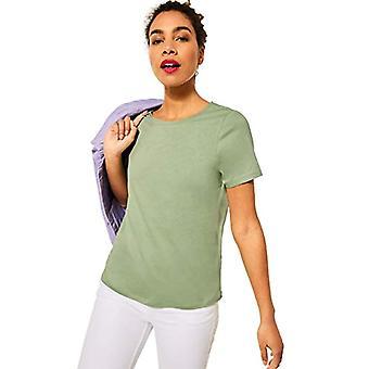Street One 316011 T-Shirt, Faded Green, 44 Women