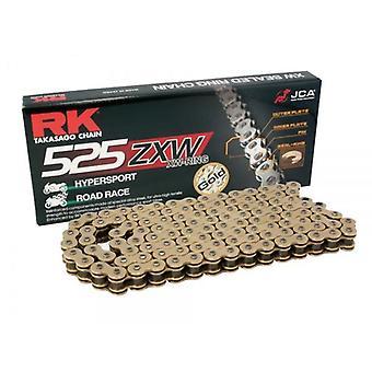 RK CHAIN GB525ZXW-108 ORO para Aprilia Shiver 750 SL 2008-2015 Cagiva 650 600