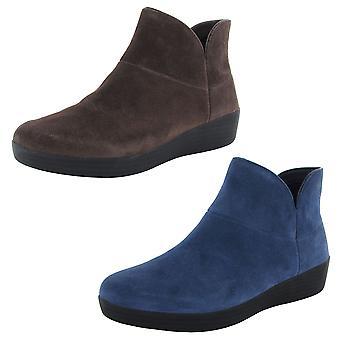 FitFlop Femmes Supermod Suede Cuir Bottine II Chaussures