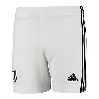 2021-2022 Juventus Home Shorts (Hvid) - Børn