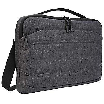 Targus Groove X2 Slim Case avec extérieur hydrofuge conçu pour MacBook 13 pouces et ordinateur portable jusqu'à 13 pouces, charbon de bois (TSS979GL)