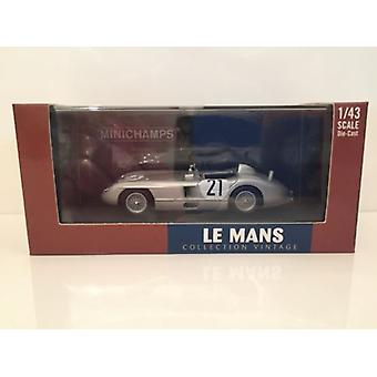 Minichamps 432 553021 Mercedes Benz 300 SLR Kling/Simon 24h Le Mans 1955