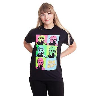 Friday The 13th Womens/Ladies Jason Voorhees Pop Art Boyfriend T-Shirt
