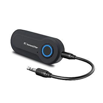 Kebidu Bluetooth Transmitter 3.5mm Jack Audio Adapter