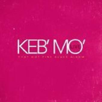 Keb Mo - Live - That Hot Pink Blues Album [CD] USA import