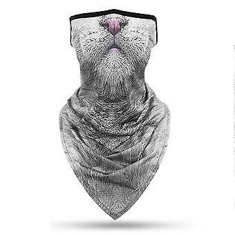 (Z) סואוד צינור בעלי חיים אופנוען Balaclava צוואר חם צינור סנוד צעיף בנדנה