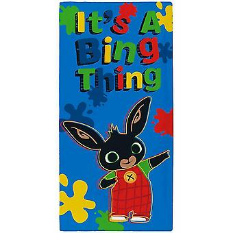 Bing Bunny Towel