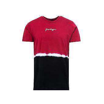 Hype Mens Coastline Tie Väritys T-paita