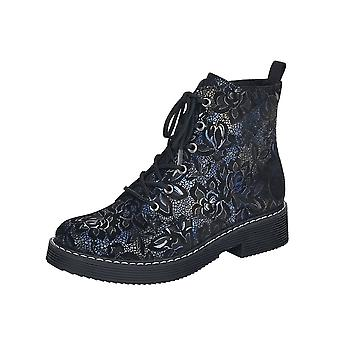 Rieker 70010-14 Payton Ankle Boots In Night Flower
