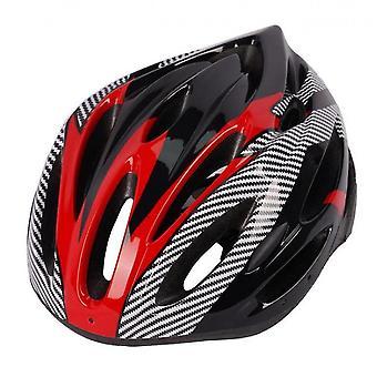 קסדות רכיבה על אופניים לגברים ולנשים בכבישי הרים (אדום)