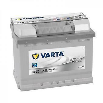 Batteri Auto D15 (+ höger) 12v 63ah 610a
