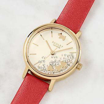 Radley Hello Love Ry2988 Cream Dial Leather Strap Ladies Watch