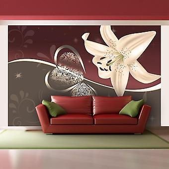 Tapet - Fløde lilje