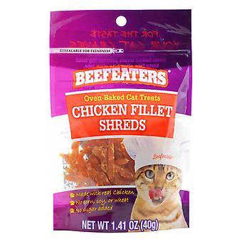 Beefeaters Oven Baked Chicken Filet Shreds Cat Treats - 1.41 oz