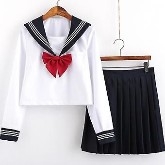 Uniformes scolaires étudiants Costume de marine Femmes Sexy Marine Jk Costume