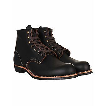 "Red Wing 3345 Heritage Work 6"" Blacksmith Boot - Black Prairie"