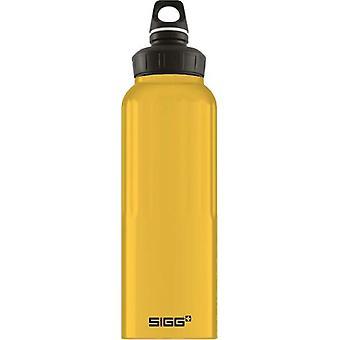 Sigg WMB Traveller Mustard 1.5L Lightweight Aluminium Drinking Bottle 8776.5