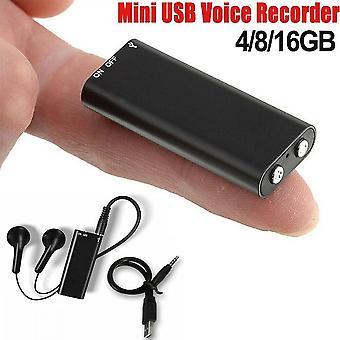 Mini 4 / 8 / 16 / 32gb Digital Voice Activated Recorder Audio Recoder Voice Listening Device (Eingebautes 8G)