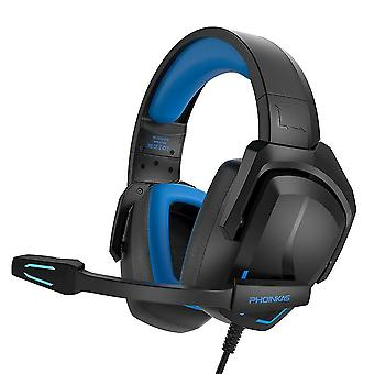 Gaming Headset With Mic(Blue)