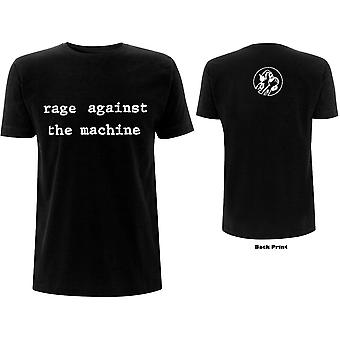 Rage against the machine unisex tee: mototov (back print)