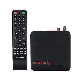 New Vesion Hellobox 8 Receiver Satellite Dvb-t2 Dvb S2 Combo Tv Box Tuner Tv Play On Phone Satellite Tv Receiver Support Cccam