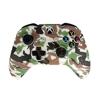 Controller Cover Silicone Skin Protector Anti-slip For X Xbox One Elite  With Thumb Grip Caps