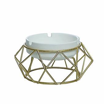 Cendrier géométrique décoratif