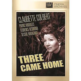 Three Came Home [DVD] USA import