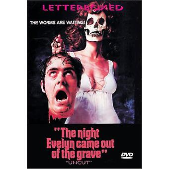 Night Evelyn Came Out of the Grave [DVD] USA import