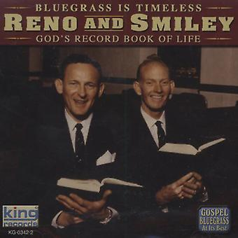 Reno & Smiley - Guds post Book of Life [CD] USA import