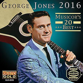 George Jones - 2016: 20 de Musicor mejor [CD] USA importar