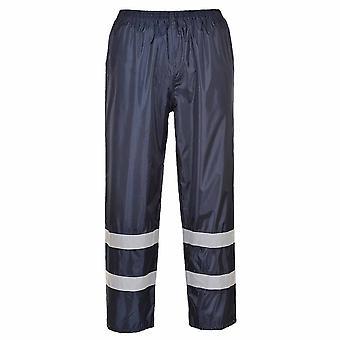 Portwest-klasické Iona reflexné pracovné odevy Rain nohavice
